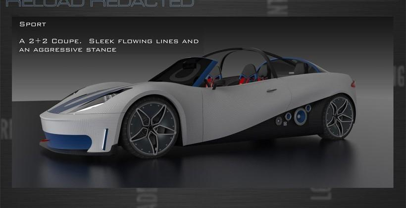 Local Motors latest 3D printed car aims to allow customization