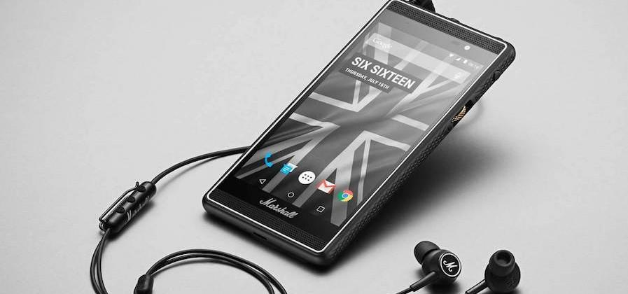Marshall debuts London, an Android phone build for rock & roll