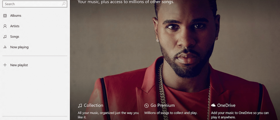 Xbox Music renamed Groove for Windows 10