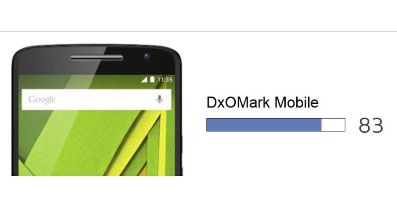 DxOMark ranks the Moto X Style above the iPhone 6
