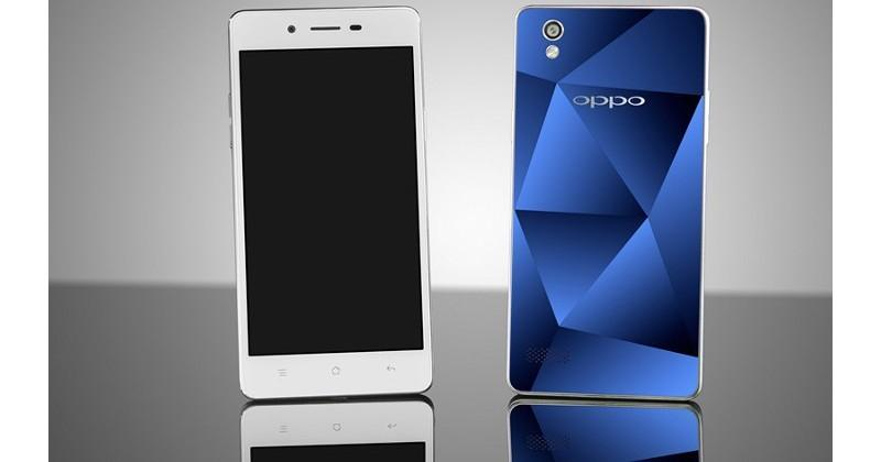 OPPO Mirror 5 tries to dazzle with its cut-glass rear