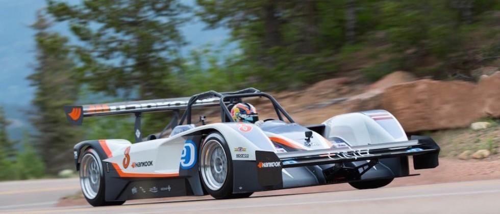 New electric vehicle record set for Pikes Peak hillclimb