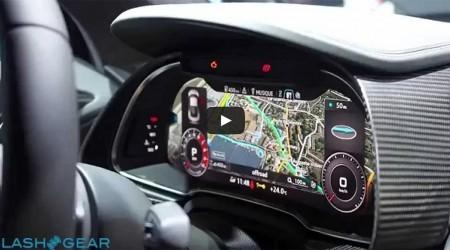 2017 Audi R8 Virtual Cockpit Walkthrough Video and Gallery