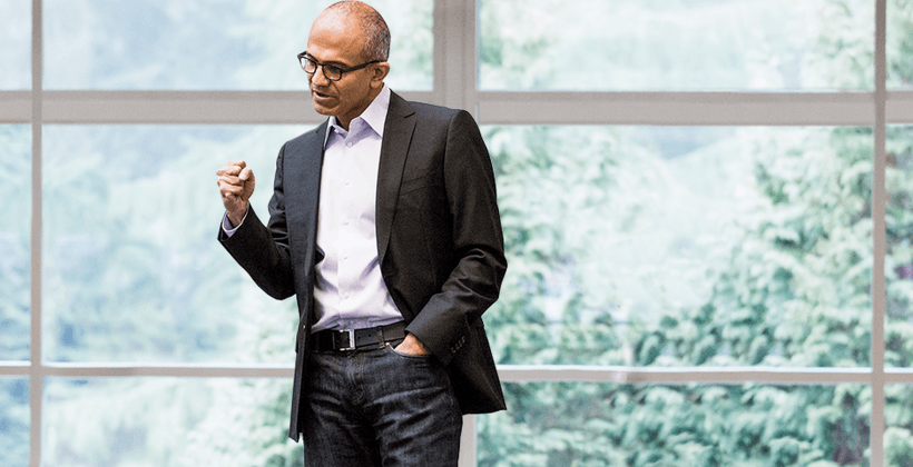 Nadella: Windows 10 embraces all, yes, even phones