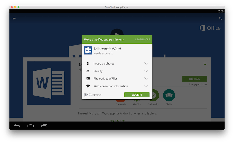 BlueStacks Android emulator officially expands to OS X