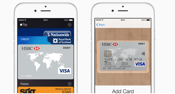 Apple Pay now supported by UK's HSBC and First Direct