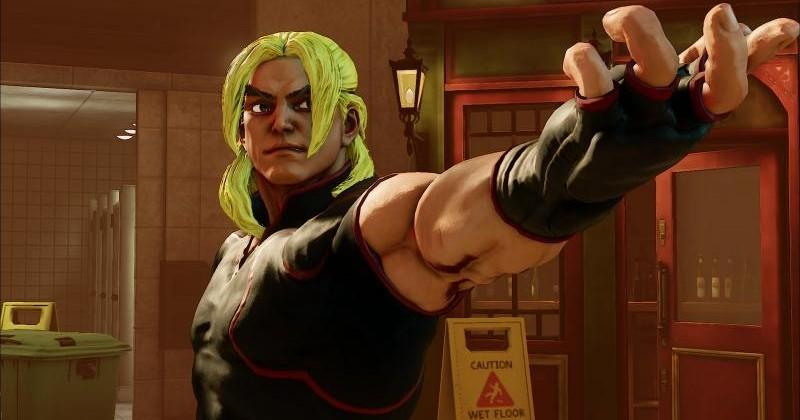 Behold the new Ken Masters of Street Fighter V