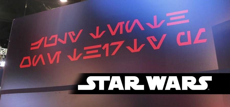 Cryptic Star Wars message appears over SDCC [UPDATE]