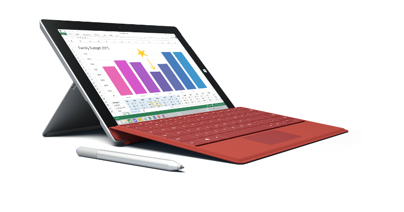Surface 3 LTE rolls out to businesses first, consumers later