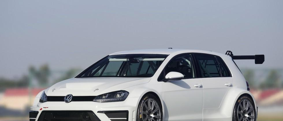 Volkswagen Golf race car concept unveiled