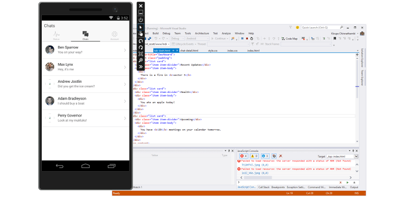 Visual Studio 2015 comes with Android and iOS support - SlashGear