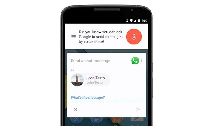OK Google now works with WhatsApp, Viber, and WeChat