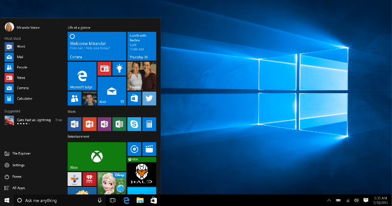 Windows 10 begins its rollout to 190 countries