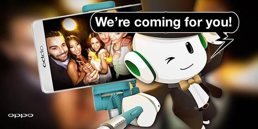 OPPO invading USA with a Selfie Stick and a smartwatch