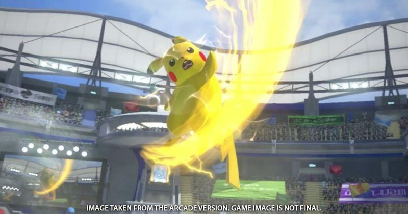 Japan's Pokemon arcade fighting game is coming to Wii U
