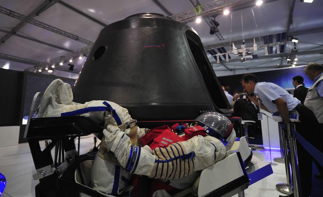 Russia reveals photos of its latest manned spacecraft