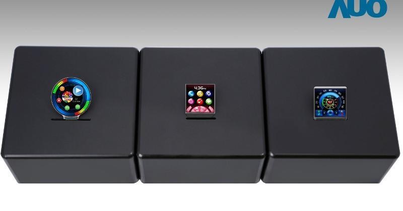 AUO's new displays include 4K smartphones, wearables