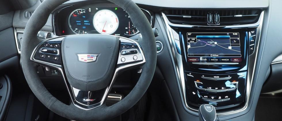 Cadillac's 2016 CTS-V ushers in revamped CUE