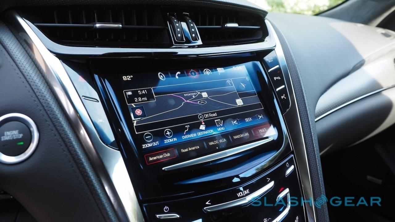 Cadillac's 2016 CTS-V ushers in revamped CUE - SlashGear