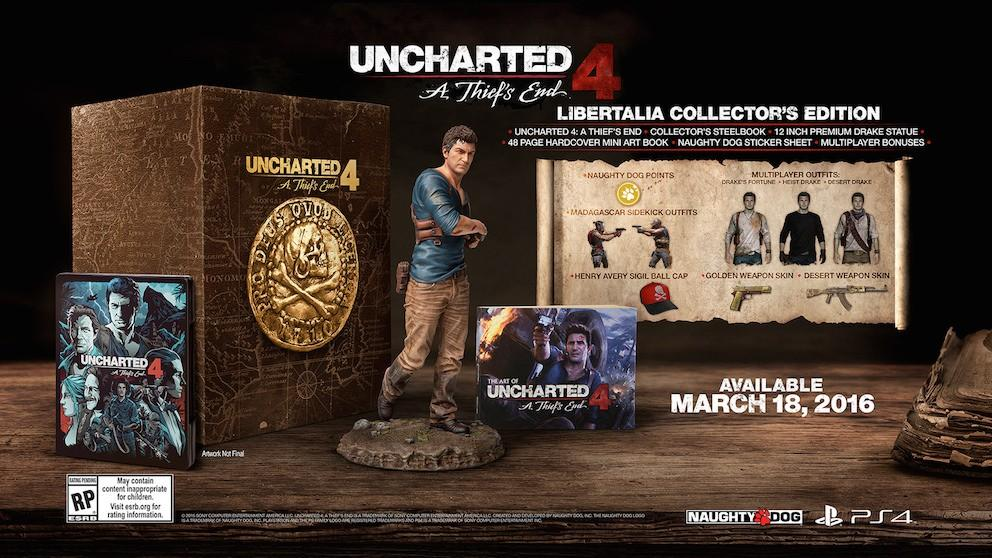 Uncharted 4 hits PS4 on March 18, 2016