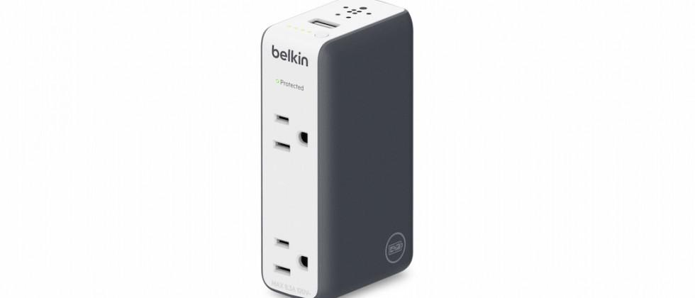 Belkin's Travel Rockstar is a battery pack with AC & USB ports