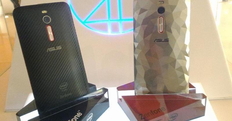 Brazil's ASUS ZenFone 2 Deluxe has 256 GB of storage