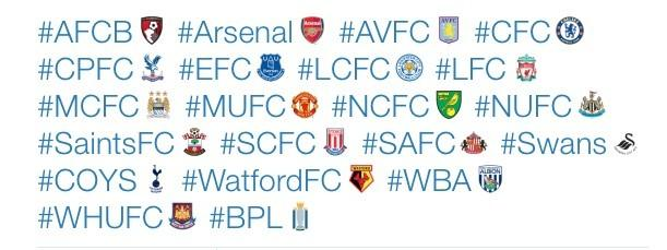 Twitter rolls out emoji for Premier League kickoff