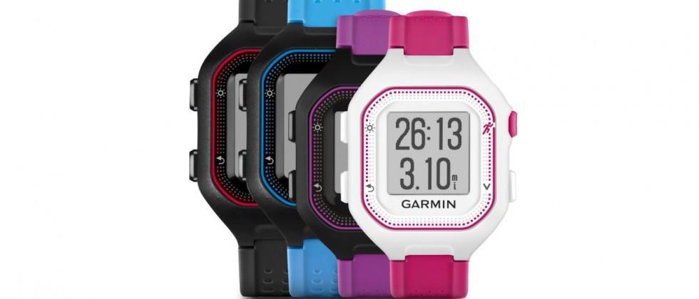 Garmin Forerunner 25 puts GPS in slimmer running watch