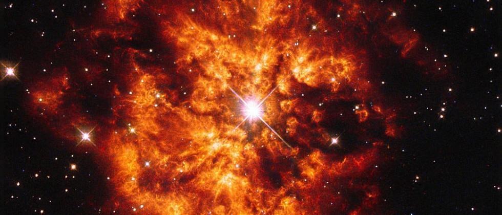 This awe-inspiring nebula looks like the Eye of Sauron