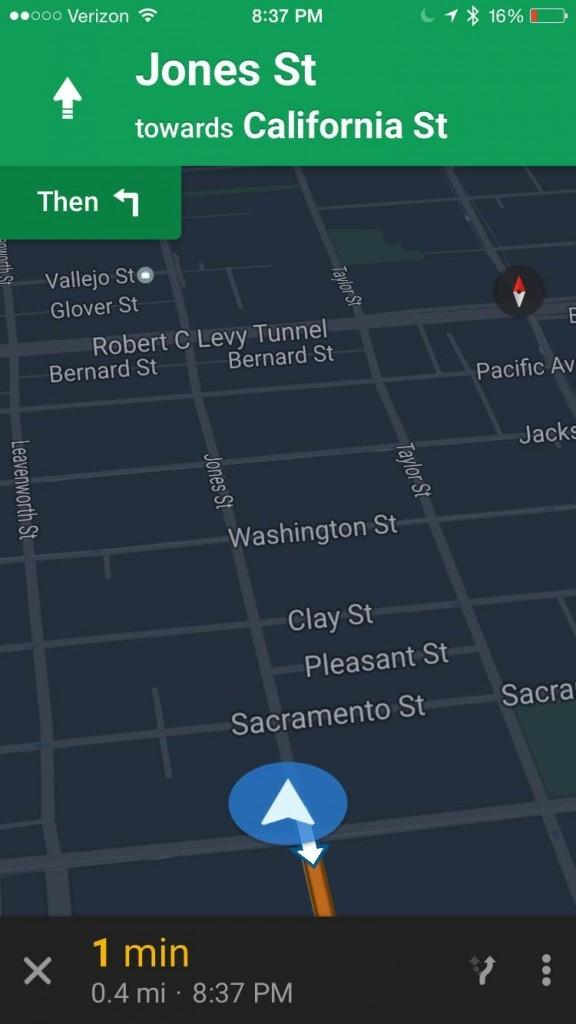 Night Mode Finally Descends On Google Maps For Ios Slashgear