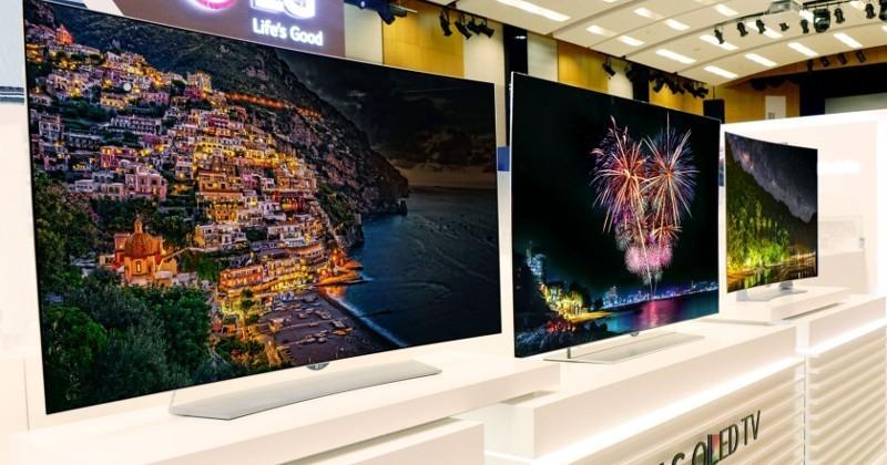 LG has four more 4K OLED TVs to display at IFA 2015