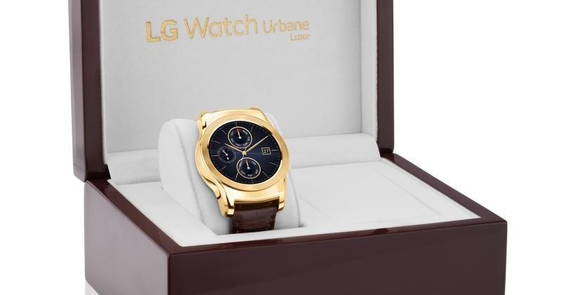 LG Watch Urbane Luxe flaunts gold to make it more timely