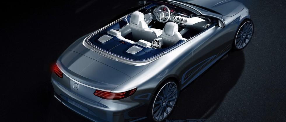 Mercedes teases super-luxe S-Class Cabriolet