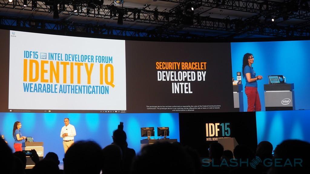Intel ID bracelet