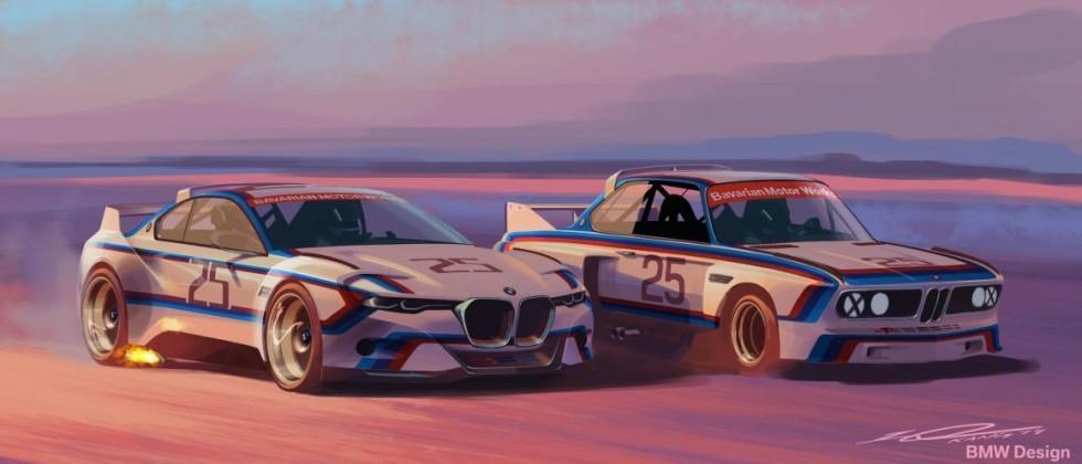 Take Two: BMW 3.0 CSL Hommage R debuts at Pebble Beach