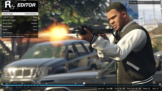 Rockstar Editor will have new features on PS4, Xbox One