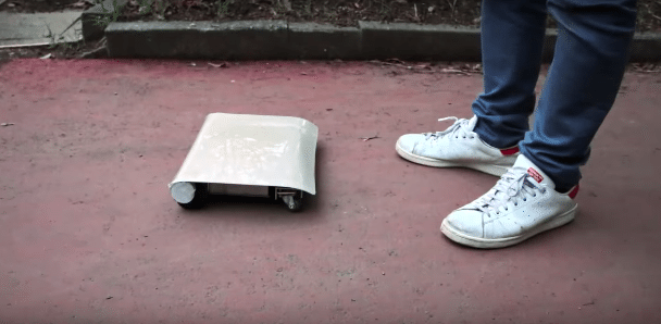 WalkCar is a laptop-shaped skateboard 'car' for your city travels