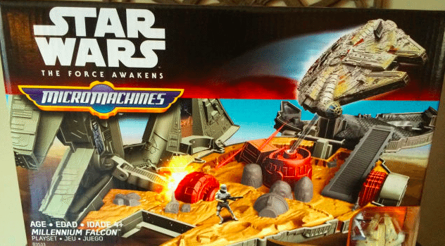 Star Wars: The Force Awakens toys mistakenly released early