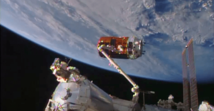 Japan's cargo ship arrives at ISS: whiskey, mice and more aboard