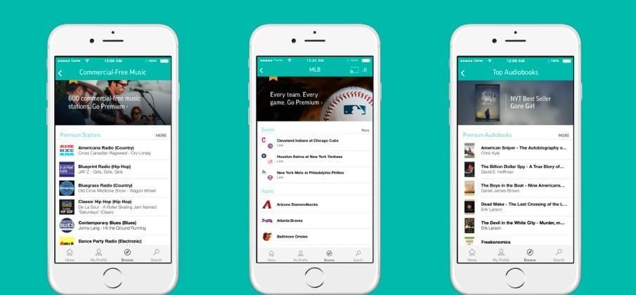 TuneIn adds premium plan, audiobooks, and MLB streaming