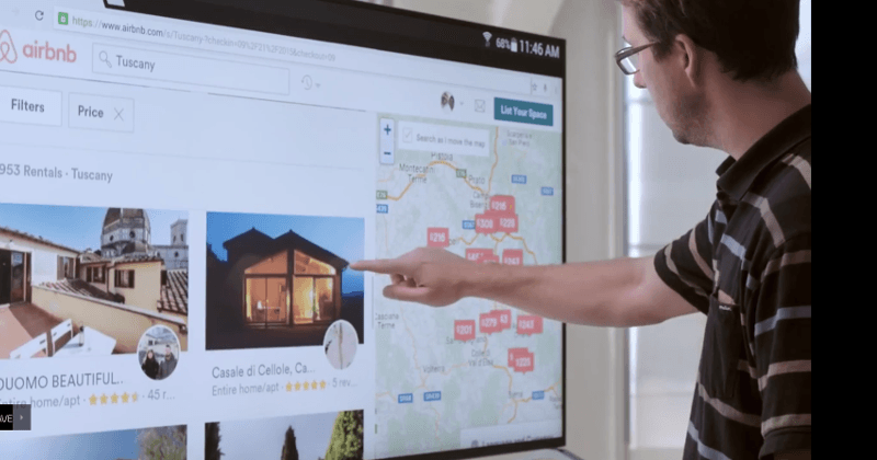 Touchjet WAVE turns any TV into an Android Surface Hub