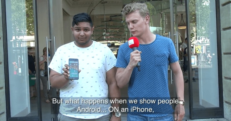 """Android iPhone clone shown as """"iOS 9"""", iFans love it"""