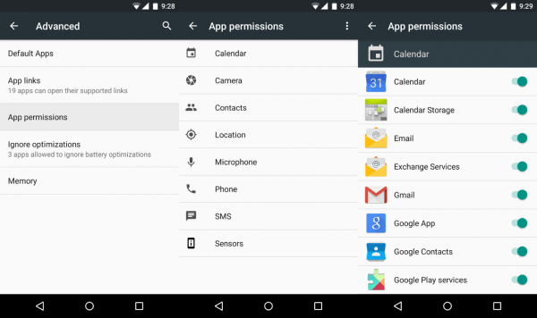 Android 6 0 apps can ask permissions only when needed
