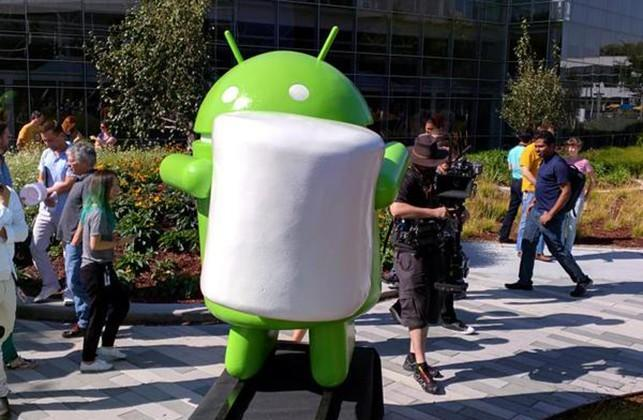 Android Marshmallow revealed with new statue