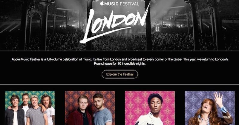 Apple Music Festival announced for London starting September 19