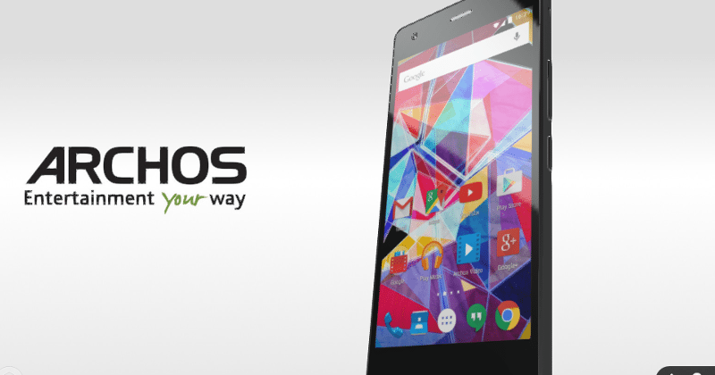 ARCHOS IFA 2015 smartphone team: 2 Android, 1 Windows 10