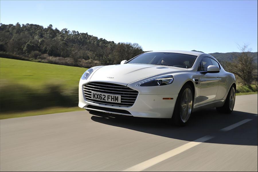 Aston Martin Eyes 800hp All Electric Rapide Slashgear