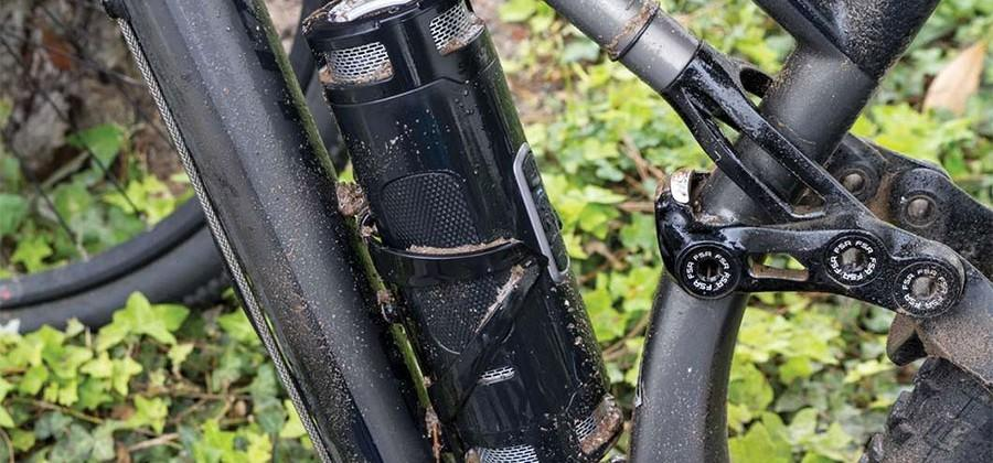 Scosche BoomBottle+ fits into the water bottle cage on bikes