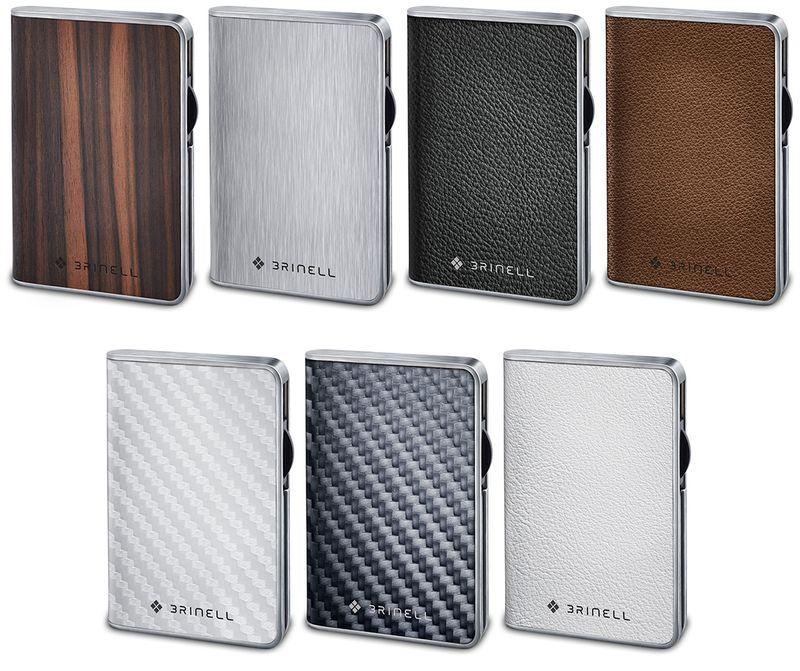 Brinell debuts external SSDs with wood, leather, steel trim