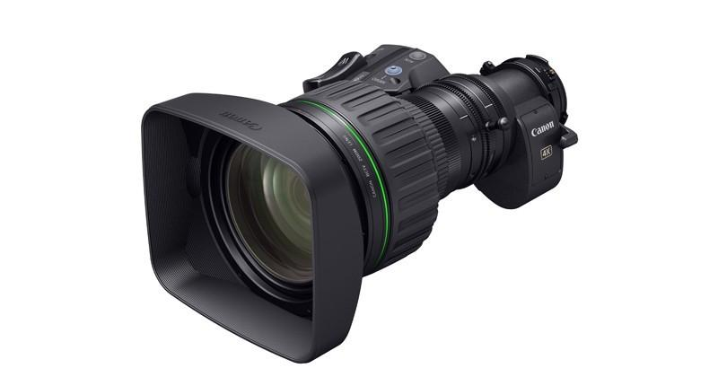 Canon's next portable zoom lens will target 4K broadcasting